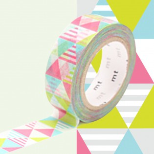 Masking tape losanges shimasankaku pink