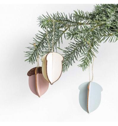 Décoration en bois Glands - Rico Design