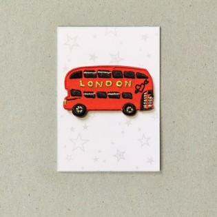 Thermocollant bus Londres - Petra Boase