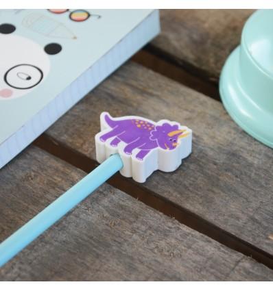 Crayon à papier gomme Dinosaure - Sass & Belle