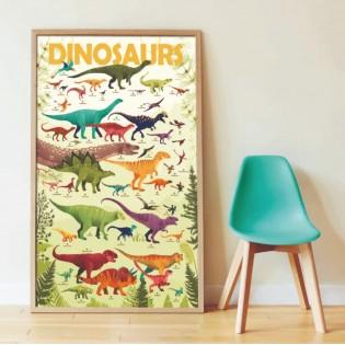Poster & stickers Dinosaures - Poppik
