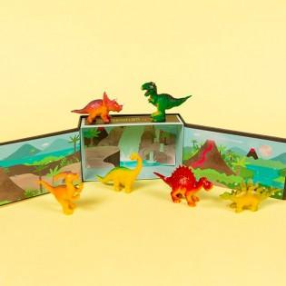 Boite de 6 figurines dinosaures