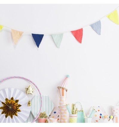 Guirlande Fanions multicolore - Meri Meri