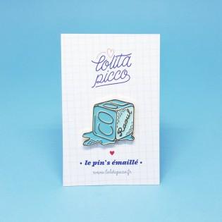"Pin's émaillé glacé ""cool Raoul"" - Lolita Picco"