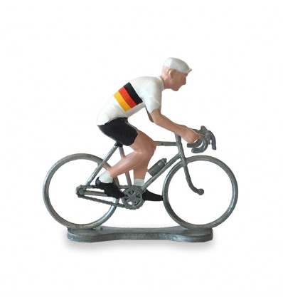 Figurine cycliste Allemagne - Bernard & Eddy