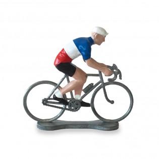 Figurine cycliste France - Bernard & Eddy