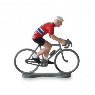 Figurine cycliste Norvège - Bernard & Eddy