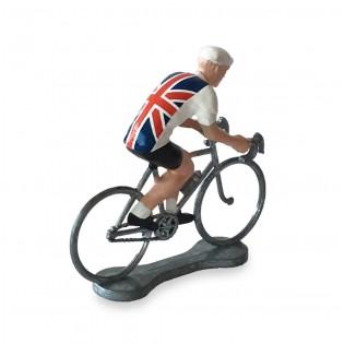 Figurine cycliste Grande-Bretagne - Bernard & Eddy