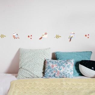 Stickers frise Summer Oiseaux - Mimilou