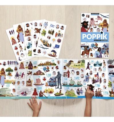 Poster & stickers Frise Historique - Poppik
