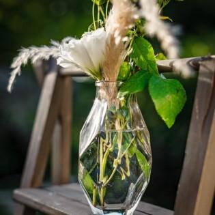 Vase rétro en verre - Jeanette