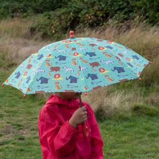 Parapluie enfant Parc d'Animaux Vert