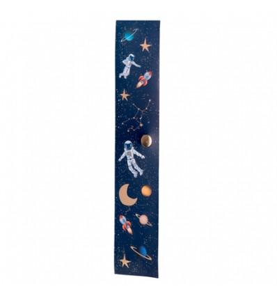 Rouleau de 56 stickers astronaute