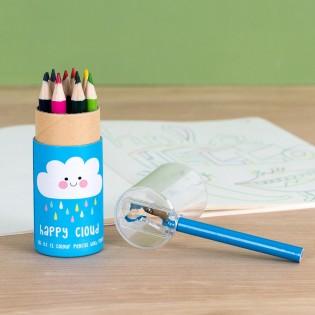 Boîte de 12 crayons de couleurs Nuage