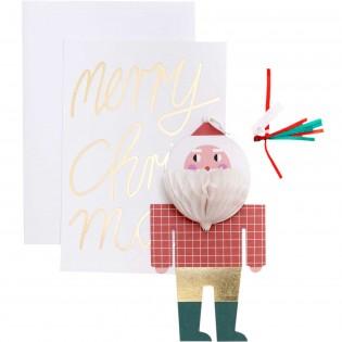 Carte Pop-up Père Noël - Rico Design