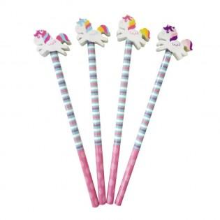 Crayon à papier gomme licorne - Tobar