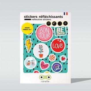 Sticker réfléchissant Be Green - Rainette