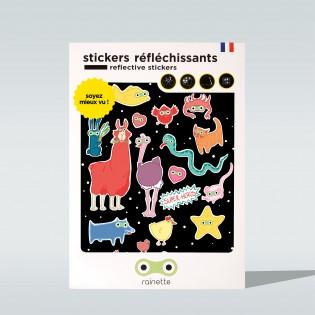 Sticker réfléchissant Super Héros - Rainette