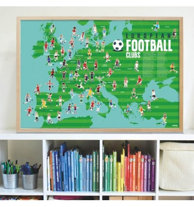 Poster & stickers Football - Poppik