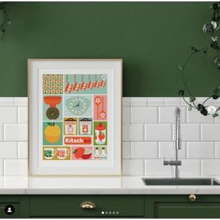 Affiche Kitchen - Les Petits Yéyés
