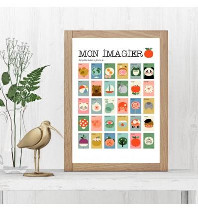 Affiche Mon Imagier - Les Petits Yéyés