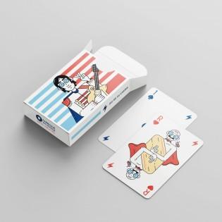 Jeu de 54 cartes Les Super Héros - Napoléon Editions