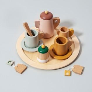 Service à thé en bois 11 pièces - Petit Monkey