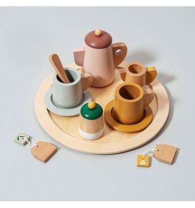 Service à thé en bois - Petit Monkey