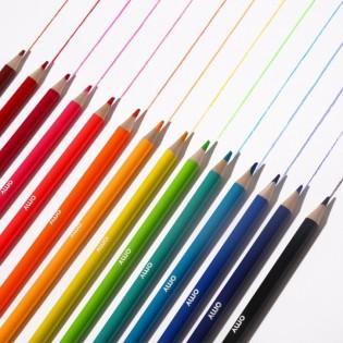 16 crayons de couleurs POP - Omy