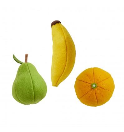Kit DIY 3 Fruits en feutrine - Olli Ella