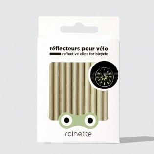 Réflecteurs pour rayons de vélo Or - Rainette