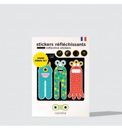 Sticker réfléchissant 3 Monstres - Rainette
