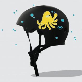 Sticker réfléchissant Pieuvre - Rainette