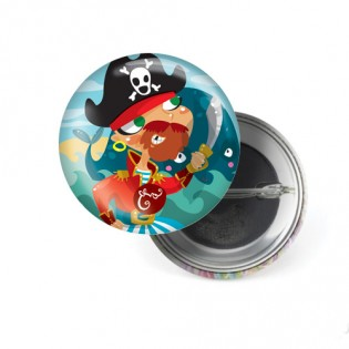 Badge Pirate - Emilie Fiala