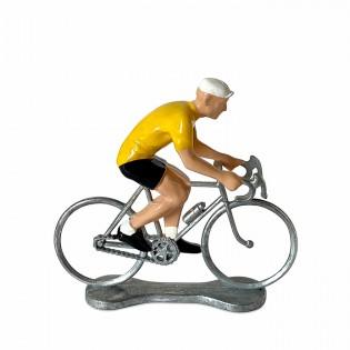 Figurine cycliste Coureur Maillot Jaune - Bernard & Eddy