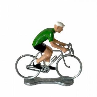Figurine cycliste Maillot Vert - Bernard & Eddy