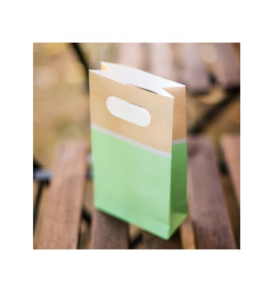 6 pochettes cadeau mint - Artyfete
