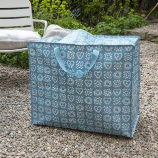 Grand sac de rangement Friendship bleu - Rex