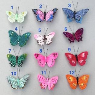 Papillon décoratif à cliper - Petra Boase
