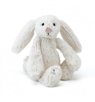 Peluche lapin blanc (moyen)