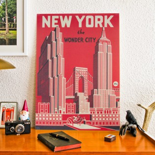 Affiche New york vintage - Cavallini & Co