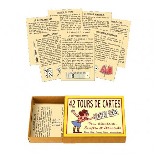 42 Tours de cartes Marc Vidal