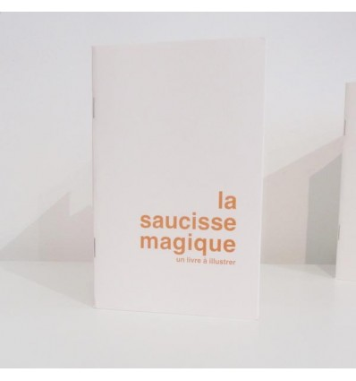"""Livre à illustrer """"La saucisse magique"""""""