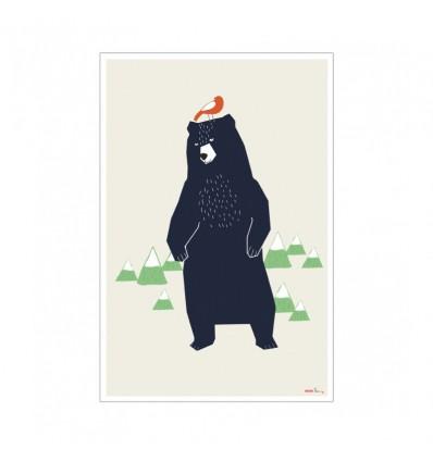 Affiche Grizzly Mimi'lou