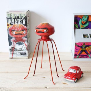 Robot pieuvre Martian invader