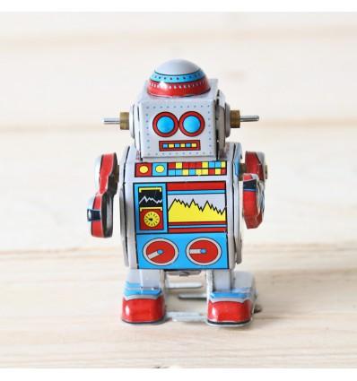 Robot mécanique vintage
